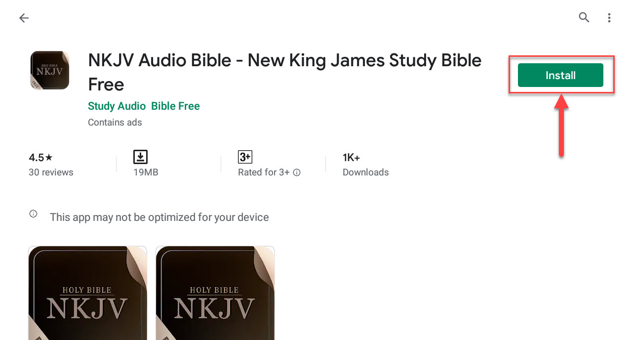 Download and Install NKJV Audio Bible - New King James Study Bible Free For PC (Windows 10/8/7)