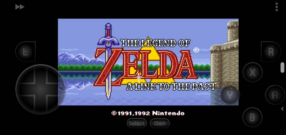 Legend of Zelda, The - A Link to the Past SNES ROM - How To Play Legend Of Zelda, The - A Link To The Past On Android