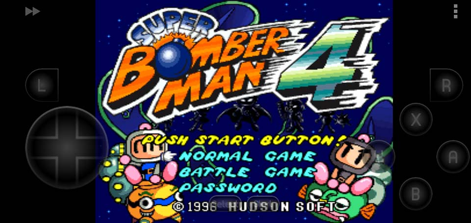 Super Bomberman 4 SNES ROM - How To Play Super Bomberman 4 On Android