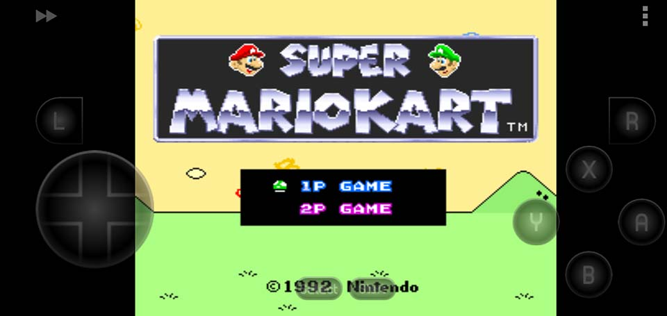 Super Mario Kart SNES ROM - How To Play Super Super Mario Kart On Android