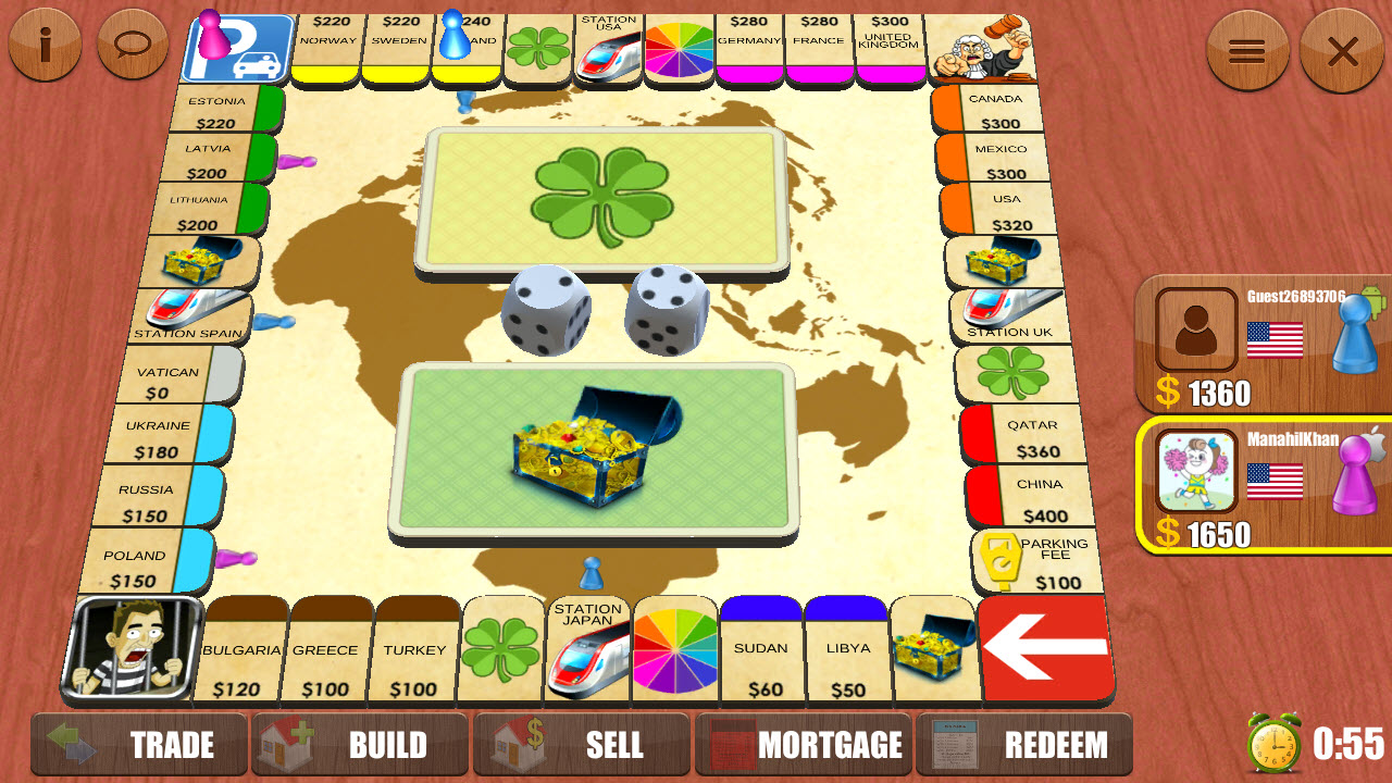 Play Rento Dice Board Game Online on PC