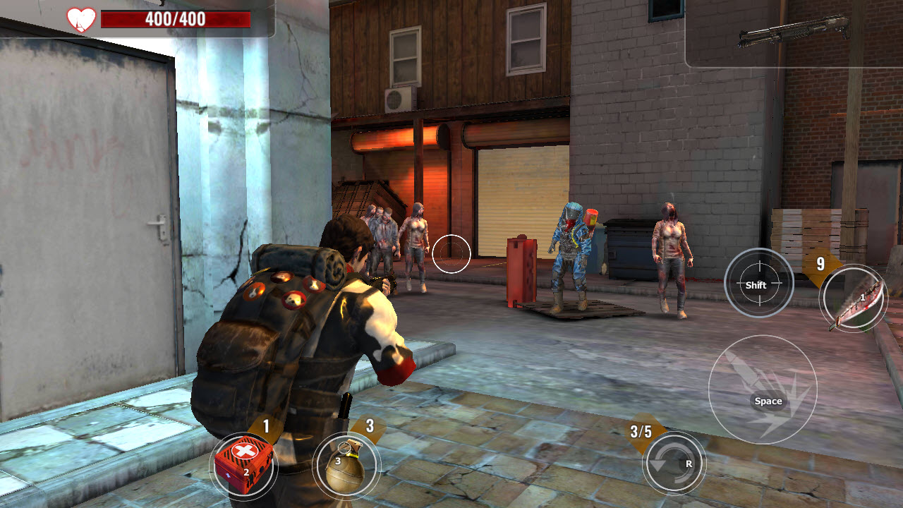 Play ZOMBIE SURVIVAL on PC