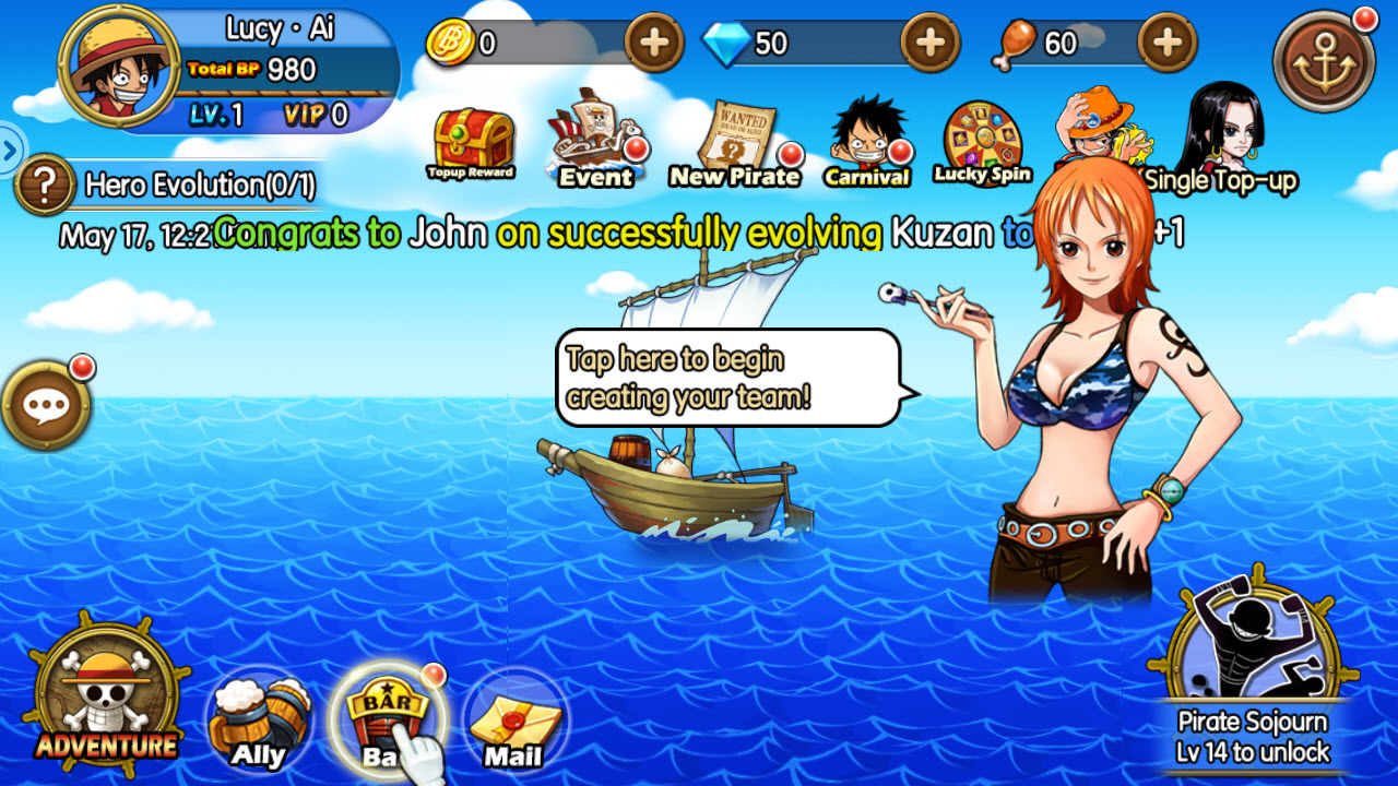 Play Sunny Pirates Going Merry on PC
