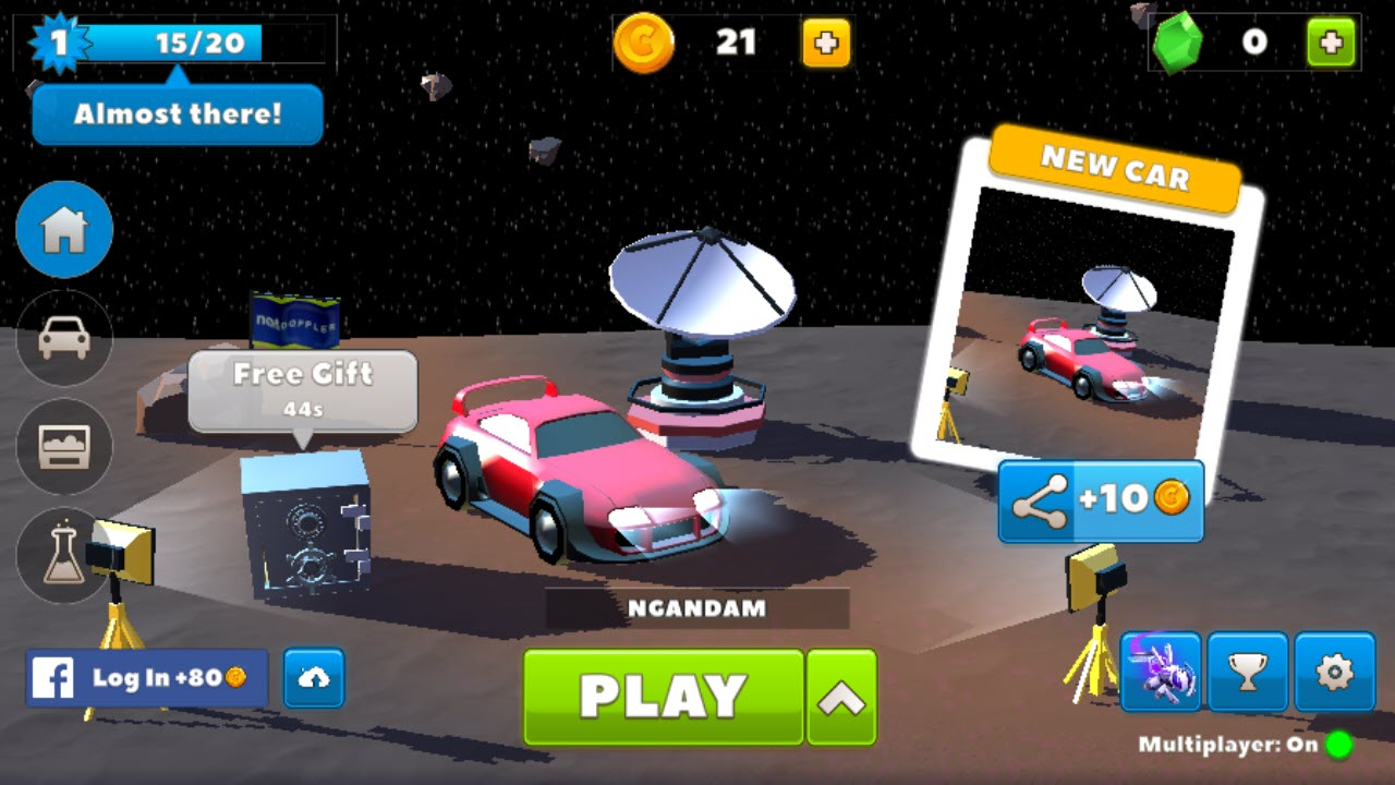 Play Crash of Cars on PC