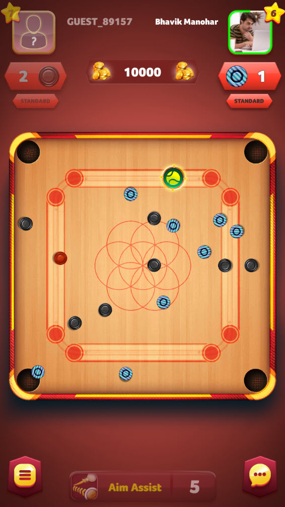 Play Carrom Friends: Carrom Board Game on PC