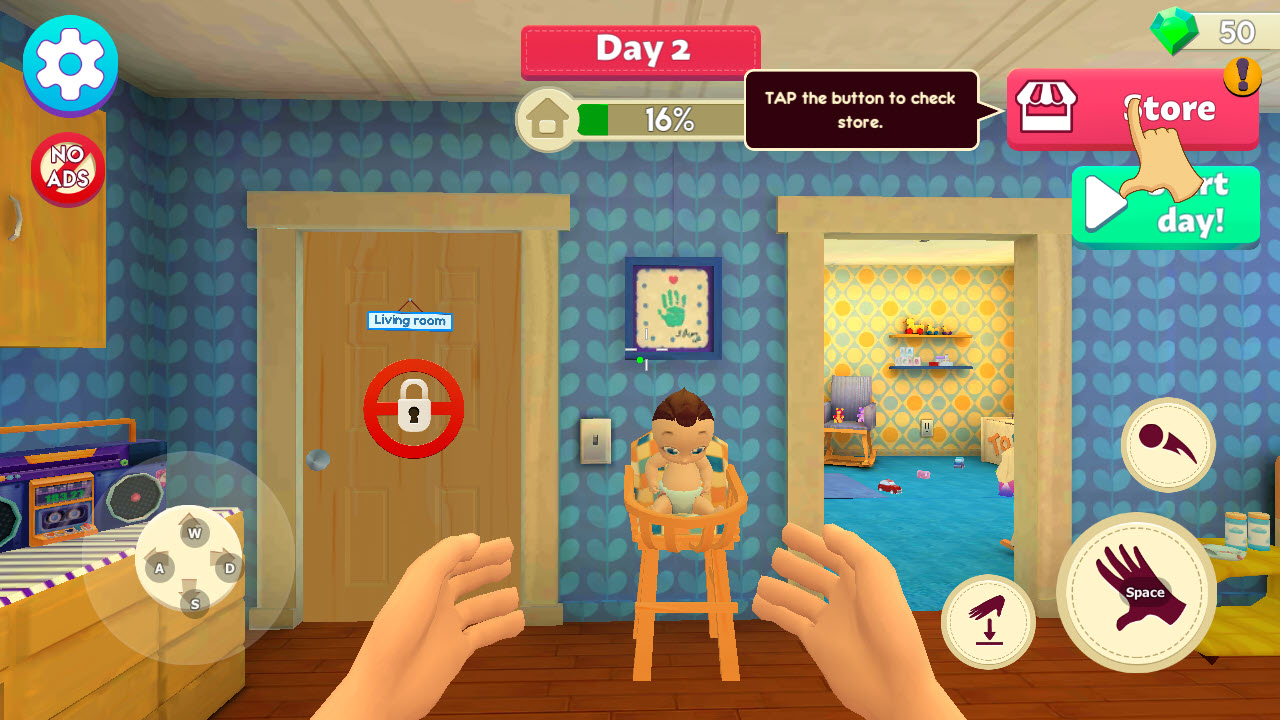 Play Mother Simulator: Happy Virtual Family Life on PC