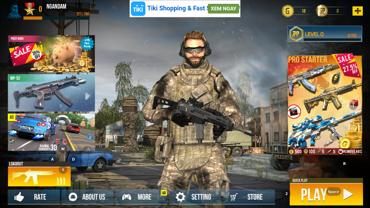 Play Real Commando Secret Mission: Free Shooting Games on PC