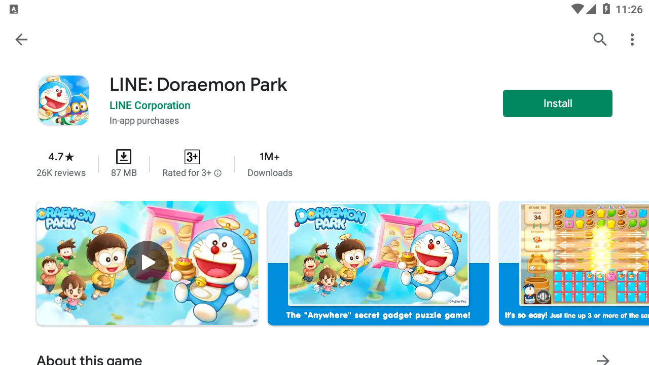 Download and Install LINE: Doraemon Park For PC (Windows 10/8/7)