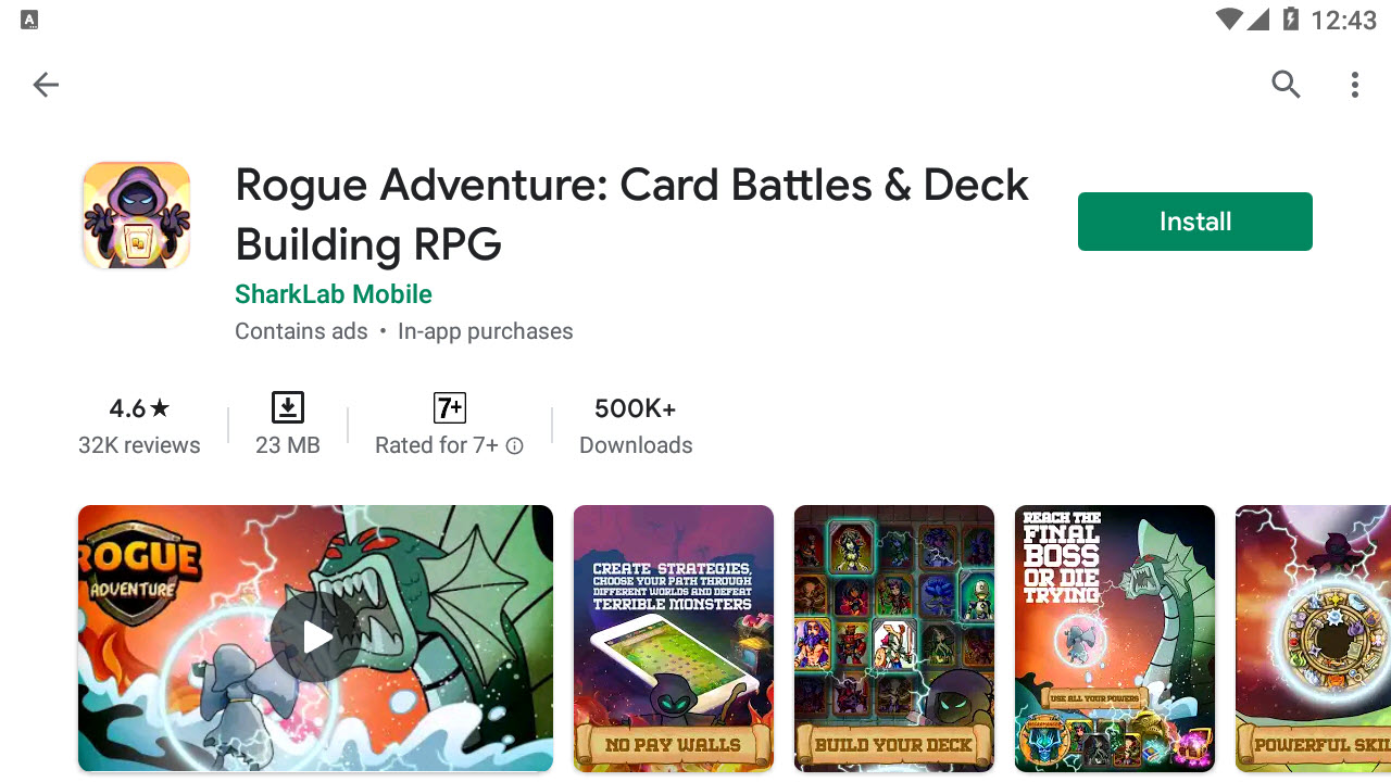 Download and Install Rogue Adventure - Card Battles & Deck Building RPG For PC (Windows 10/8/7)